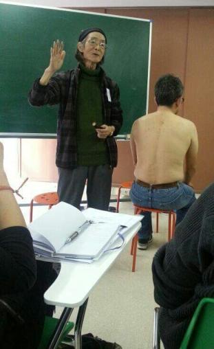 Profesor Shinma Hideo